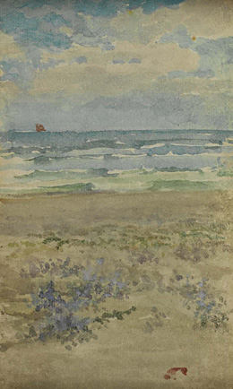 James McNeill Whistler - Blue and Silver - Belle Ile 1899/1900
