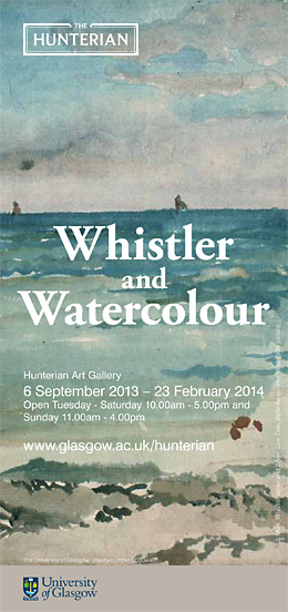 Whistler & Watercolour - exhibition poster