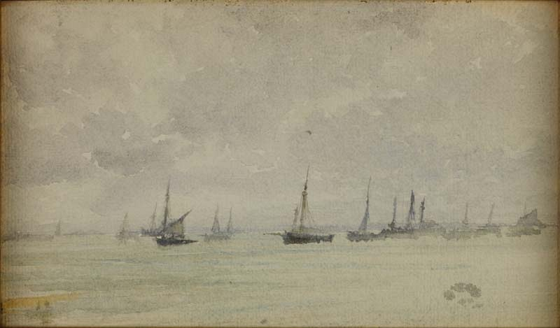 Note in grey and silver – Oyster Fleet 1884/5